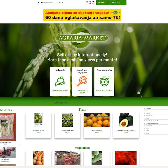 Agraria Market example